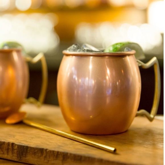 """Moscow mule set of 4, from """"10 Strawberry St"""""""